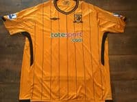 Classic Football Shirts | 2009 Hull City Old Vintage Soccer Jerseys